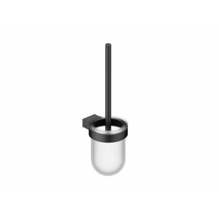 Vitalle Bresso Szczotka do WC szkło mrożone/czarny mat 3406030081