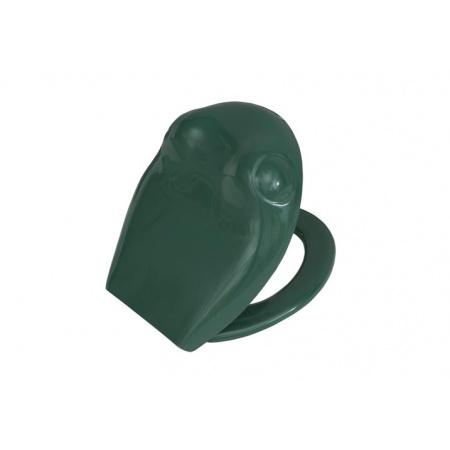 Vitra S20 Deska sedesowa zwykła 34x27 cm, zielona 27-032-001