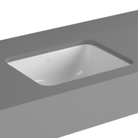 Vitra S20 Umywalka podblatowa 45x37x16,5 cm, biała 5473B003-0618