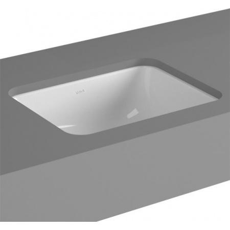 Vitra S20 Umywalka podblatowa 50x37x16,5 cm, biała 5474B003-0618