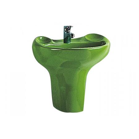 Vitra S20 Umywalka wisząca 56x38x19 cm, zielona 6037B032-0001