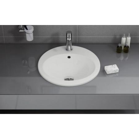 Vitra S20 Umywalka wpuszczana w blat 42,5x42,5x18 cm, biała 5466B003-0001