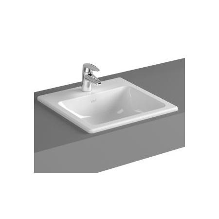 Vitra S20 Umywalka wpuszczana w blat 45x45x17 cm, biała 5463B003-0001