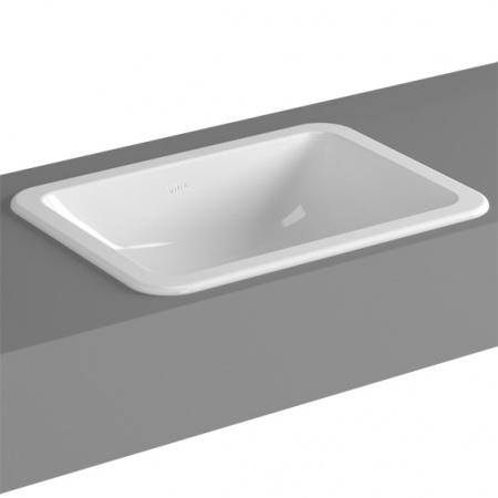 Vitra S20 Umywalka wpuszczana w blat 50x37x16,5 cm, biała 5474B003-0642