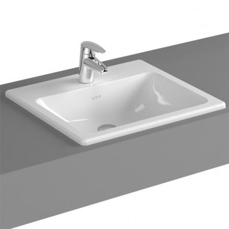 Vitra S20 Umywalka wpuszczana w blat 50x45x17 cm, biała 5464B003-0001