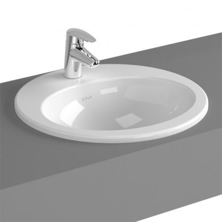 Vitra S20 Umywalka wpuszczana w blat 52,5x47,5x18 cm, biała 5468B003-0001