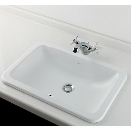 Vitra S20 Umywalka wpuszczana w blat 55x37x16,5 cm, biała 5475B003-0642
