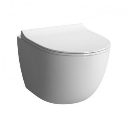 Vitra Sento Toaleta WC podwieszana 54x36,5 cm, biała 4448B003-0075