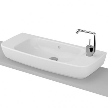 Vitra Shift Umywalka nablatowa 80x35x16 cm, biała 4389B003-0921