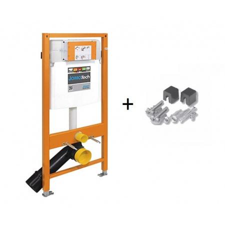 Werit / Jomo JomoTech Stelaż do toalety WC podwieszanej H112 ze wspornikami, 174-91100700-00