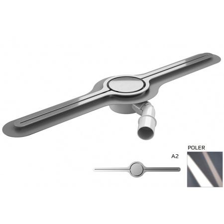 Wiper Eye-drain A2 Odpływ liniowy 70 cm, poler WIPEYEDA270POL
