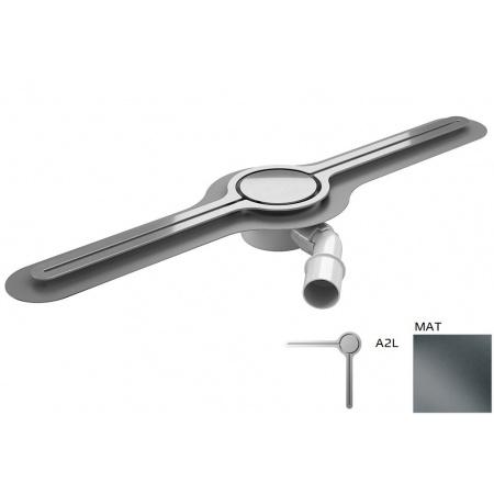 Wiper Eye-drain A2L Odpływ liniowy 120 cm, mat WIPEYEDA2L120MAT