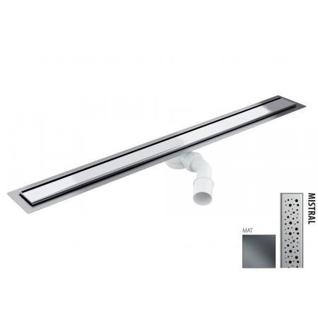 Wiper New Elite Mistral Zestaw Odpływ liniowy 80 cm mat 100.3396.03.080
