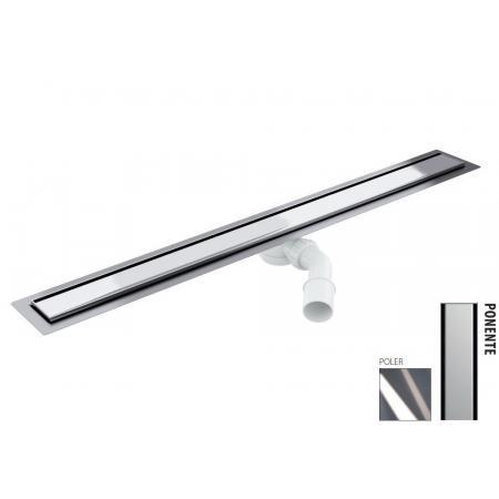 Wiper New Elite Ponente Zestaw Odpływ liniowy 70 cm poler 100.3398.01.070