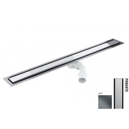 Wiper New Elite Ponente Zestaw Odpływ liniowy 80 cm mat 100.3398.03.080