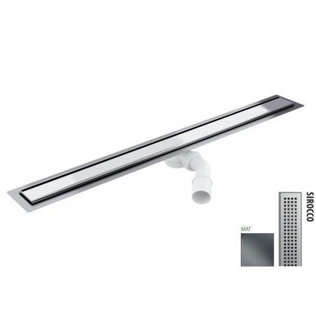 Wiper New Elite Sirocco Zestaw Odpływ liniowy 80 cm mat 100.3397.03.080