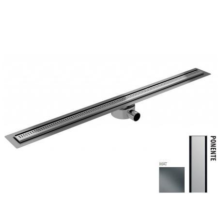 Wiper New Elite Slim Ponente Zestaw Odpływ liniowy 110 cm mat 100.3401.03.110