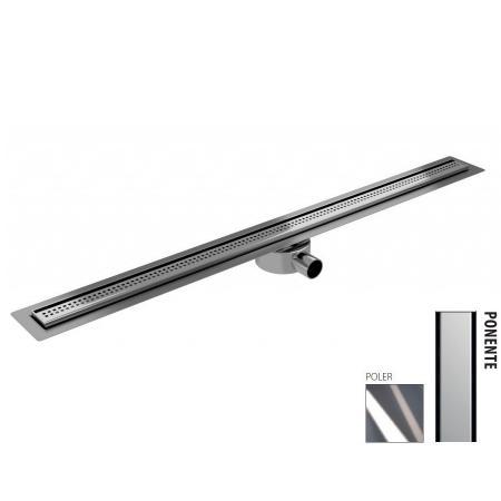 Wiper New Elite Slim Ponente Zestaw Odpływ liniowy 80 cm poler 100.3401.01.080