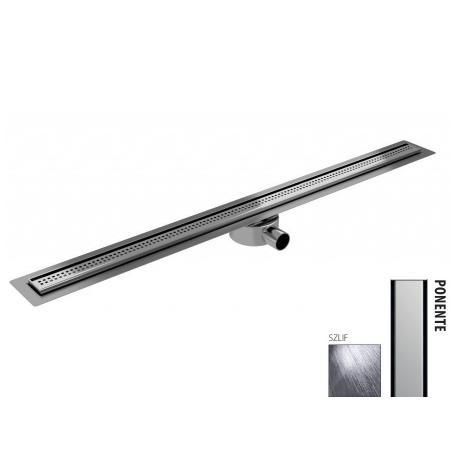 Wiper New Elite Slim Ponente Zestaw Odpływ liniowy 80 cm szlif 100.3401.02.080