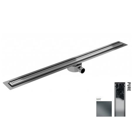 Wiper New Elite Slim Pure Zestaw Odpływ liniowy 80 cm mat 100.3402.03.080
