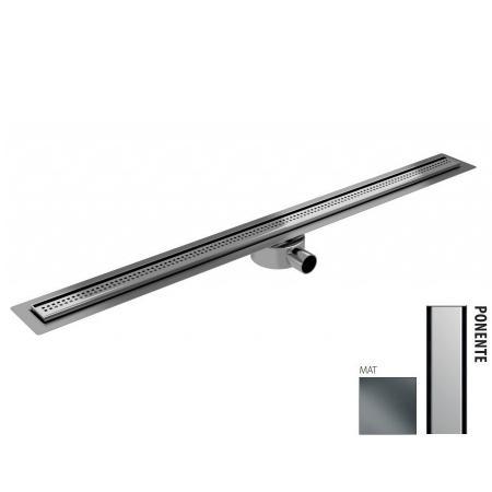 Wiper New Elite Slim Sirocco Zestaw Odpływ liniowy 100 cm mat 100.3400.03.100