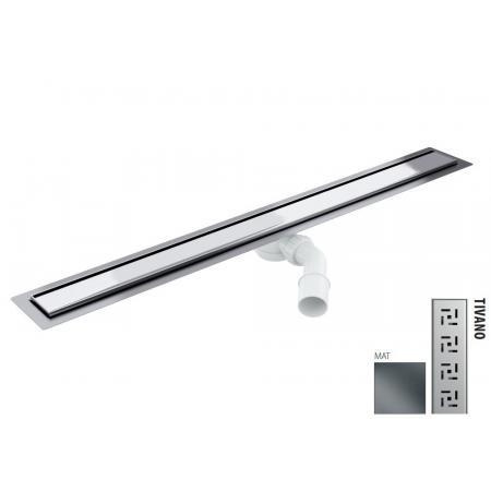 Wiper New Elite Tivano Zestaw Odpływ liniowy 70 cm mat 100.3394.03.070