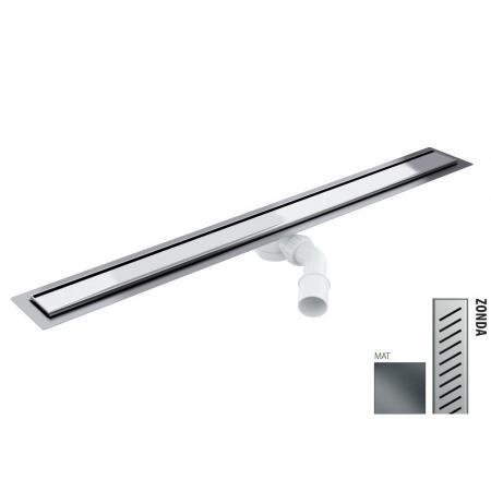 Wiper New Elite Zonda Zestaw Odpływ liniowy 70 cm mat 100.3395.03.070