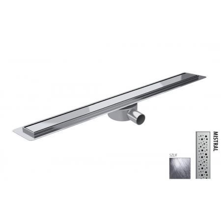 Wiper New Premium Slim Mistral Zestaw Odpływ liniowy 120 cm szlif 100.3385.02.120