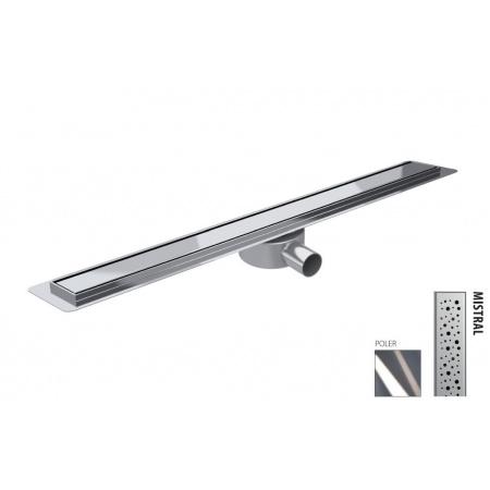 Wiper New Premium Slim Mistral Zestaw Odpływ liniowy 50 cm poler 100.3385.01.050