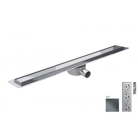 Wiper New Premium Slim Mistral Zestaw Odpływ liniowy 80 cm mat 100.3385.03.080
