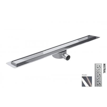 Wiper New Premium Slim Mistral Zestaw Odpływ liniowy 80 cm poler 100.3385.01.080