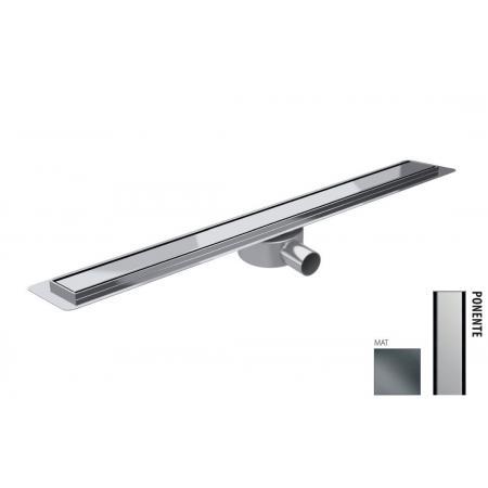 Wiper New Premium Slim Ponente Zestaw Odpływ liniowy 70 cm mat 100.3387.03.070