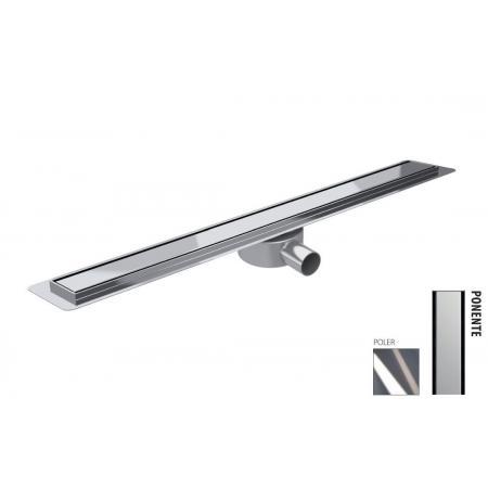 Wiper New Premium Slim Ponente Zestaw Odpływ liniowy 70 cm poler 100.3387.01.070