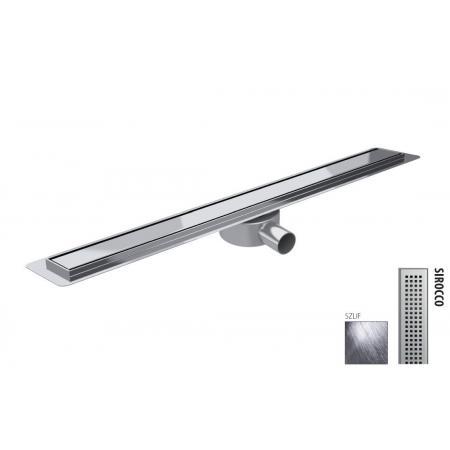 Wiper New Premium Slim Sirocco Zestaw Odpływ liniowy 110 cm szlif 100.3386.02.110