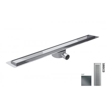 Wiper New Premium Slim Sirocco Zestaw Odpływ liniowy 70 cm mat 100.3386.03.070