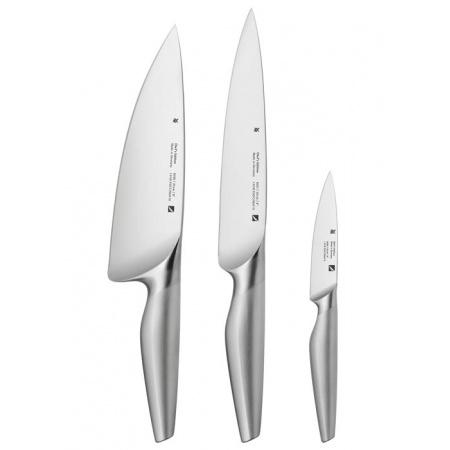 WMF Chef's Edition Zestaw noży  ze stali nierdzewnej, srebrny 1882109992