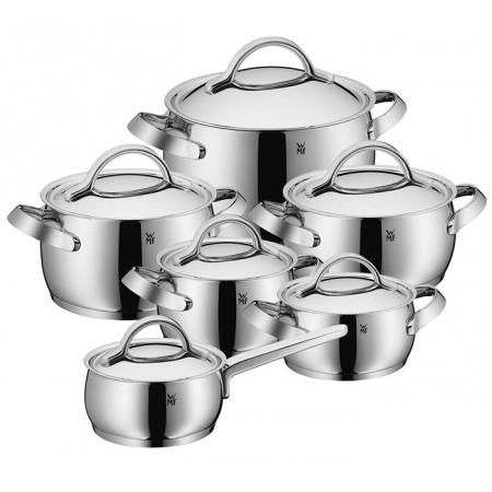 WMF Concento Zestaw garnków z pokrywami, srebrny 1726066040