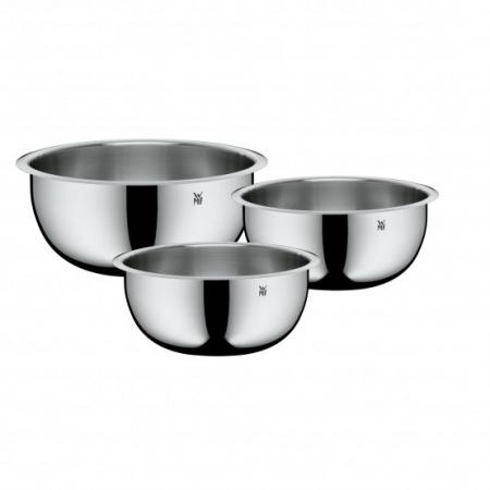 WMF Function Bowls Zestaw misek stalowych, srebrny 0645699990
