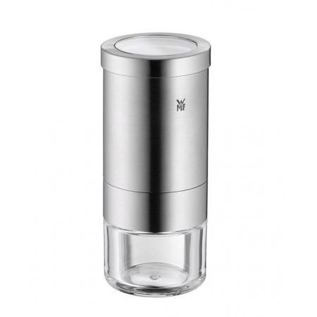 WMF Gourmet Młynek do przypraw 5,5x5,5x13 cm, srebrny/przezroczysty 0648086030