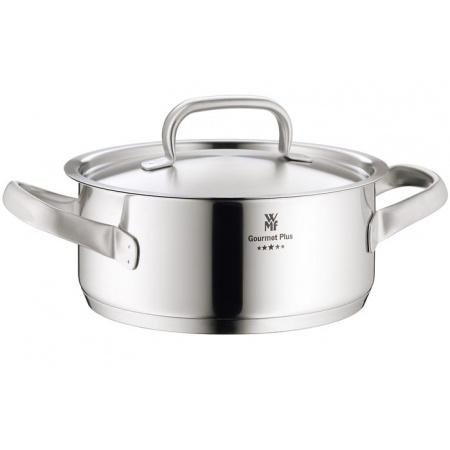 WMF Gourmet Plus Garnek z pokrywą 4,1l, srebrny 0722246030