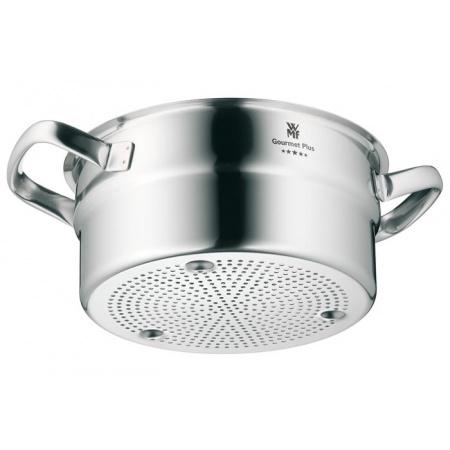WMF Gourmet Plus Wkład do gotowania na parze 20 cm, srebrny 0729066030