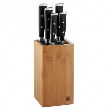 WMF Grand Class Zestaw noży w bloku, srebrny/czarny 1891749992