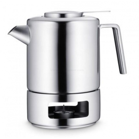 WMF Kult Dzbanek do zaparzania herbaty 1,2 l, srebrny 0631226030