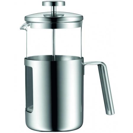 WMF Kult Zaparzacz do kawy 11x19x23 cm, przezroczysta/srebrna 0630796030
