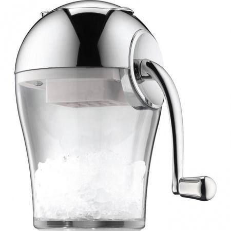 WMF Loft Bar Ręczna kruszarka do lodu 14,5x14,5x23 cm, srebrna/przezroczysta 0617926040