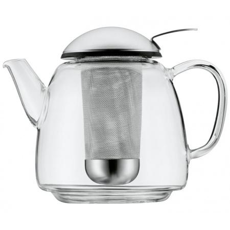 WMF SmarTea Dzbanek do herbaty z podgrzewaczem 12x12x18 cm, srebrny/przezroczysty 0631106030