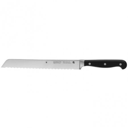 WMF Spitzenklasse Plus Nóż do chleba 31,5 cm, srebrny/czarny 1895816032