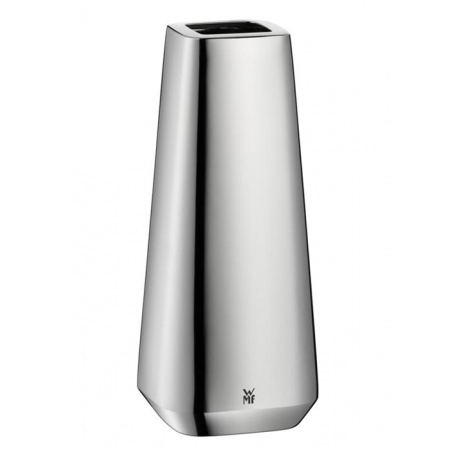 WMF Stratic Wazon 7,7x7,7x18 cm, srebrny 0636736040