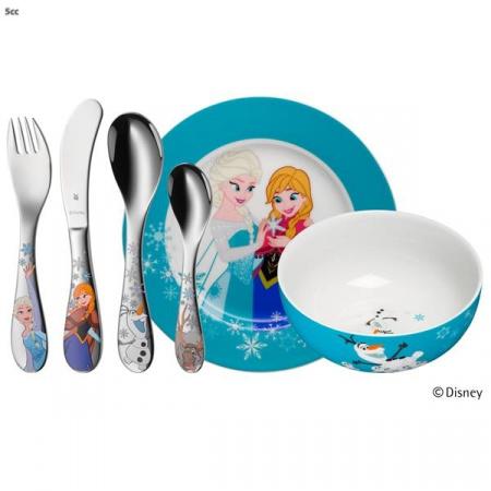 WMF Zestaw dla dzieci Frozen, srebrny/wielobarwny 128600996