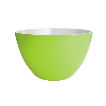 Zak Designs Misa do sałatek 18 cm, zielona/biała 1283-0324